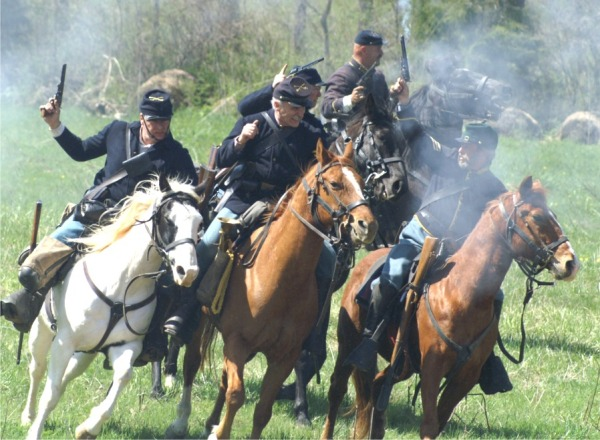 Union cavalry under George Armstrong Custer rout Jubal Early's Confederate forces at Waynesboro on March 2, 1865.